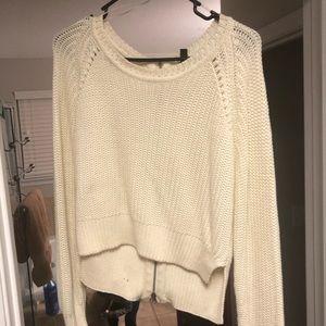 Crop top light sweater